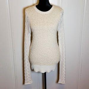 10 Crosby Derek Lam Cableknit Boucle Sweater